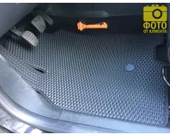 Фото товара 18 - Коврики в салон для Renault Megane 3 '08-16, универсал, EVA-полимерные, черные (Kinetic)