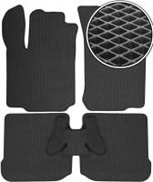 Kinetic Коврики в салон для Seat Leon '00-05, EVA-полимерные, черные (Kinetic)