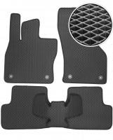 Коврики в салон для Seat Leon '12-, EVA-полимерные, черные (Kinetic)