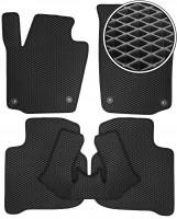 Коврики в салон для Seat Toledo '12-, EVA-полимерные, черные (Kinetic)