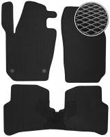 Коврики в салон для Skoda Fabia III '15-, EVA-полимерные, черные (Kinetic)