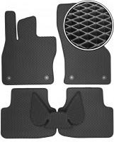 Коврики в салон для Skoda Octavia A7 '13-, EVA-полимерные, черные (Kinetic)