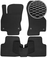 Коврики в салон для Skoda Superb '15-, EVA-полимерные, черные (Kinetic)