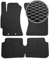 Коврики в салон для Subaru Forester '08-12, EVA-полимерные, черные (Kinetic)