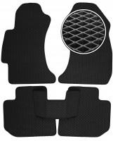 Коврики в салон для Subaru XV '11-16, EVA-полимерные, черные (Kinetic)
