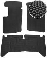 Коврики в салон для Suzuki Grand Vitara '98-05, EVA-полимерные, черные (Kinetic)