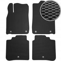 Коврики в салон для Toyota Avalon '13-, EVA-полимерные, черные (Kinetic)