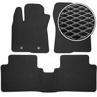 Kinetic Коврики в салон для Toyota Avensis '08-15, EVA-полимерные, черные (Kinetic)