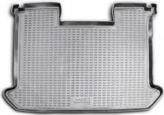 Коврик в багажник для Fiat Doblo Panorama '01-09, полиуретановый (Novline / Element) серый
