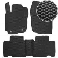 Коврики в салон для Toyota RAV4 2013-, EVA-полимерные, черные (Kinetic)