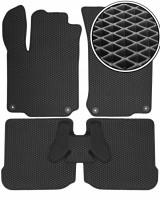 Коврики в салон для Volkswagen Bora '99-05, EVA-полимерные, черные (Kinetic)