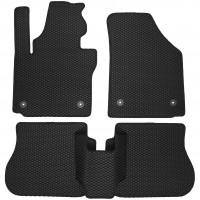 Фото 2 - Коврики в салон для Volkswagen Caddy '04-15, 4 дв. EVA-полимерные, черные (Kinetic)