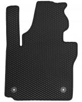 Фото 3 - Коврики в салон для Volkswagen Caddy '04-15, 4 дв. EVA-полимерные, черные (Kinetic)