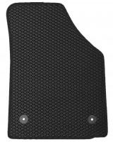 Фото 4 - Коврики в салон для Volkswagen Caddy '04-15, 4 дв. EVA-полимерные, черные (Kinetic)