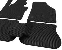 Фото 9 - Коврики в салон для Volkswagen Caddy '04-15, 4 дв. EVA-полимерные, черные (Kinetic)