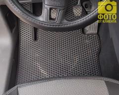 Фото 12 - Коврики в салон для Volkswagen Caddy '04-15, 4 дв. EVA-полимерные, черные (Kinetic)