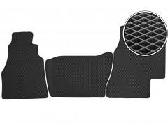 Коврики в салон для Volkswagen LT '96-05, EVA-полимерные, черные (Kinetic)