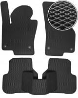 Коврики в салон для Volkswagen Passat CC '09-16, EVA-полимерные, черные (Kinetic)