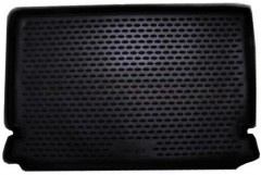 Коврик в багажник для Chery B14 '06- универсал, полиуретановый (Novline / Element) черный