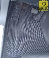 Коврики в салон для Volvo S90 '16-, EVA-полимерные, черные (Kinetic)