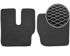 Коврики в салон для MAN F90, EVA-полимерные, черные (Kinetic)