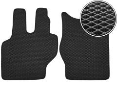 Коврики в салон для Mercedes 814, EVA-полимерные, черные (Kinetic)