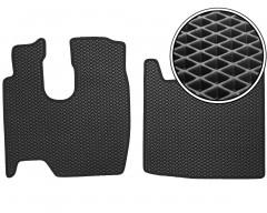 Коврики в салон для Mercedes Atego, EVA-полимерные, черные (Kinetic)