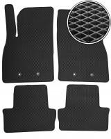 Коврики в салон для Chevrolet Volt '11-15, EVA-полимерные, черные (Kinetic)