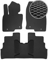 Коврики в салон для Mazda CX-9 '16-, EVA-полимерные, черные (Kinetic)