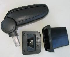 Подлокотник ASP для Hyundai Accent (Solaris) '11-17 виниловый (черный)