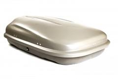 Бокс Десна-Авто 320 л серый, двухстороннее открытие