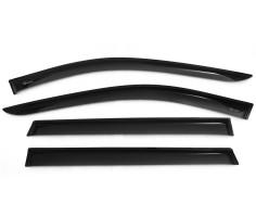 Дефлекторы окон для Nissan X-Trail (T32) '14-, акрил (Vinguru)