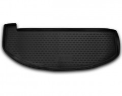 Коврик в багажник для Hyundai Santa Fe '13-17 DM (7 мест, короткий), полиуретановый (Novline / Element)