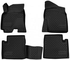 Коврики в салон 3D для Chery Tiggo 7 '17-, полиуретановые (Novline)