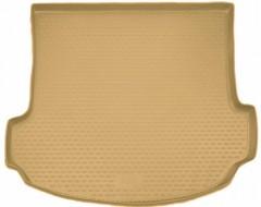 Novline Коврик в багажник для Acura MDX '06-13, полиуретановый (Novline) бежевый