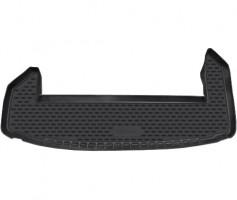 Коврик в багажник для Chevrolet Captiva '11-, короткий, полиуретановый (Novline / Element) черный