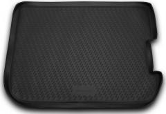 Коврик в багажник для Citroen C4 Picasso '06-13 (comfort), полиуретановый (Novline / Element) черный