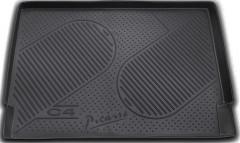 Коврик в багажник для Citroen C4 Grand Picasso '06-13, полиуретановый (Novline / Element) черный