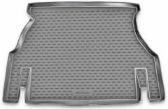 Коврик в багажник для Daewoo Nexia '05-08, полиуретановый (Novline / Element) серый