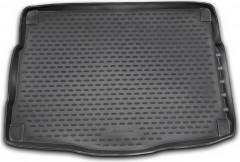 Коврик в багажник для Kia Ceed '12- хетчбэк с органайзером, полиуретановый (Novline / Element) черный