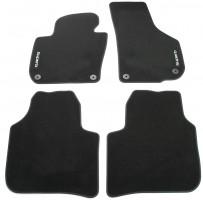 Коврики в салон для Skoda Superb '09-14, текстильные, черные (VAG-Group) 3T1061404A