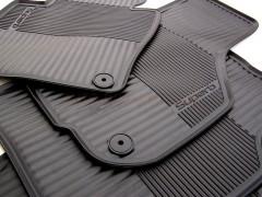 Коврики в салон для Skoda Superb '09-14, резиновые, черные (VAG-Group) 3T1061550