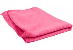 Салфетка для стекла и салона, розовая BL1305R