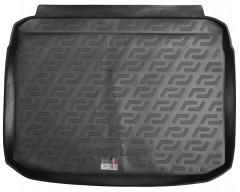 Коврик в багажник для Audi A3 (8V) '12- хэтчбек, с докаткой, резиновый (Lada Locker)