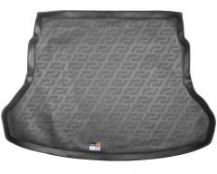 Коврик в багажник для Kia Rio 2017 - седан, (росс. сборка), резиновый (Lada Locker)