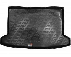 Коврик в багажник для Kia Rio 2017 - хэтчбек, X-Line, резино/пластиковый (Lada Locker)