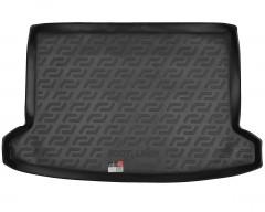 Коврик в багажник для Kia Rio 2017 - хэтчбек, X-Line, резиновый (Lada Locker)