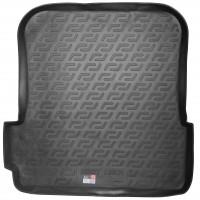 Коврик в багажник для Tesla Model X '15-, 6/7 мест, задний верхний, со сложен. зад. сиден., резиновый (Lada Locker)