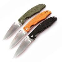 Ganzo Нож Ganzo G7321 (черный, зеленый, оранжевый)