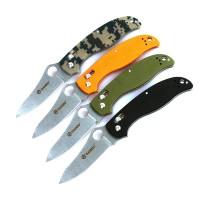 Ganzo Нож Ganzo G733 (черный, зеленый, оранжевый, камуфляж)